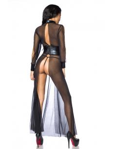 Robe longue 13839 Noir