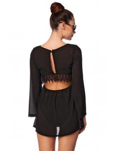 Robe de plage 14584 Noir