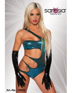 Body Gogo Wetlook 18029 turquoise