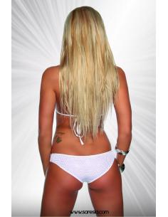 Ensemble Gogo Bikini 18033 Blanc/argent