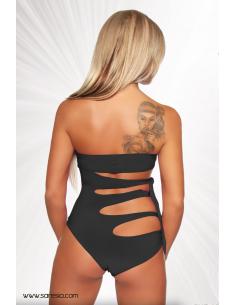 Monokini sexy 18060 Noir