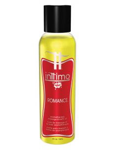 Inttimo by Wet Huile Massage Romance 120ml.