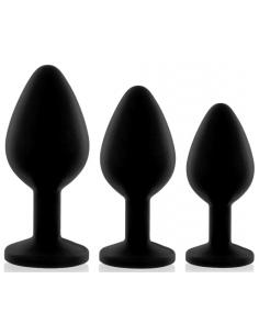Plug Booty noir 3 tailles