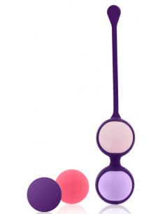 Boules de geisha Pussy Playballs Coral Rose