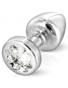 Anni R Butt Plug Trèfle Argent 25 mm