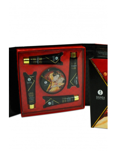 kit secret de geisha vin petillant fraise