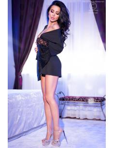 Peignoir sexy Noir CR4084