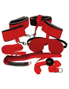 Coffret bondage kit Rouge geant