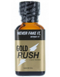 Poppers Gold Mega Rush Pentyl - 24 ml