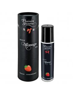 Huile de massage fraise 59ml