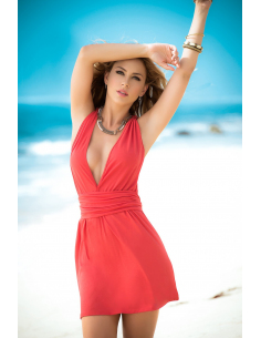 Dress coral 4934