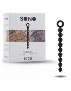 Nº28 Chaine anal Noir