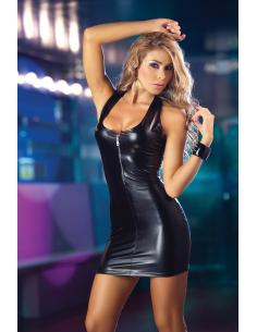 Dress metallic black 4091