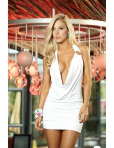 Dress white 4116