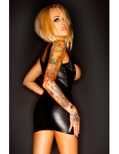 DRESS BEATRIX BLACK