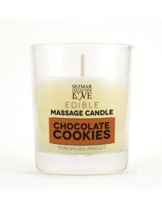 Bougie de massage parfum Cookie Chocolat - 100 ml