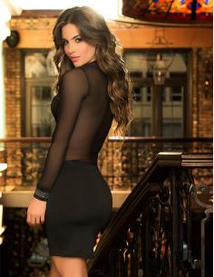 Robe sexy 4402 Noir