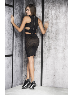 Dress black 4462