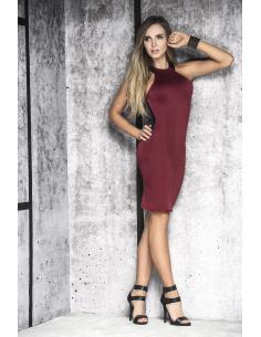 Dress burgundy 4466