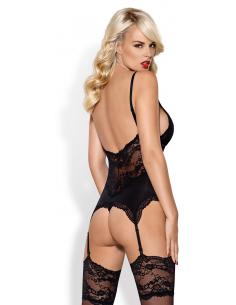 810-COR corset black