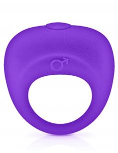 Anneau de pénis vibrant violet