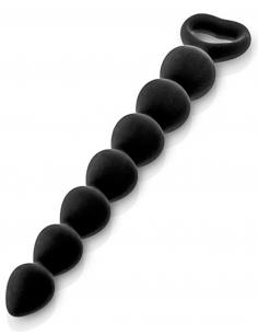 Chapelet plug anal noir 27cm 6770