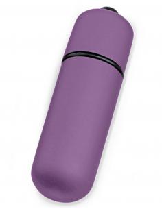 Mini stimulateur de clitoris vibrant violet 6725