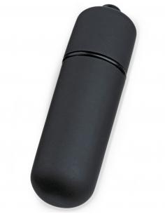 Mini stimulateur de clitoris vibrant noir 6726
