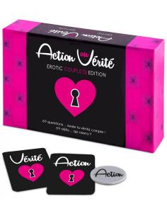 Jeu Action ou Vérité Erotic Couple Edition FR