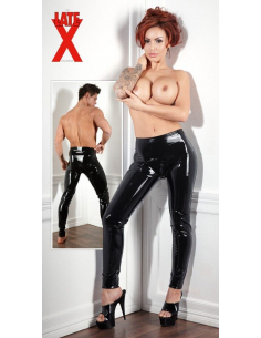 Pantalon en Latex Noir
