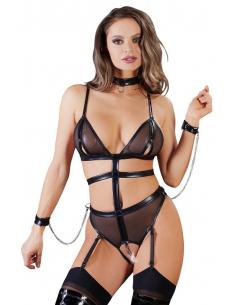 Body Bondage avec Chaines et Menottes