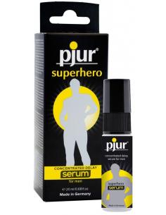 Gel Concentré Retardant Pjur Superhero - 20 ml