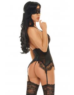 Eve corset Noir