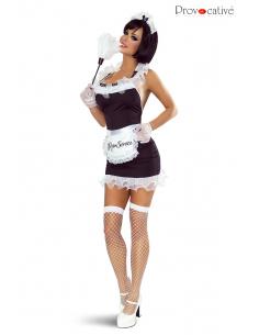 Costume Soubrette Robe 8 pièces