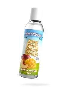 Lubrifiant V&M Saveur Mangue Pêche - 50 ml - 100%Vegan