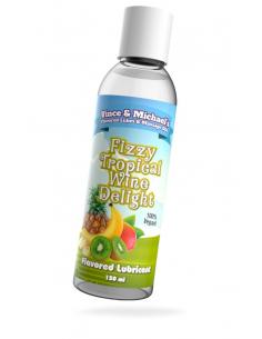 Lubrifiant V&M Saveur Fruits Exotiques Vin Pétillant - 150 ml - 100%Vegan