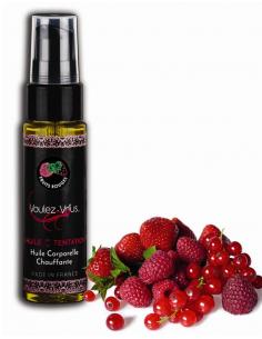 Huile de la Tentation Fruits Rouges - flacon 30ml