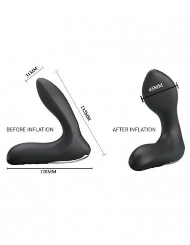 Stimulateur prostatique gonflable