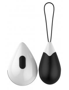 Oeuf vibrant design noir 10 vitesses USB