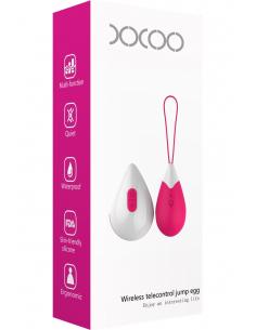 Oeuf vibrant design fuschia 10 vitesses USB