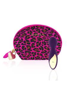 Essentials - Lovely Leopard Mini Wand Deep Purple