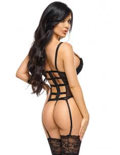 Monica corset black