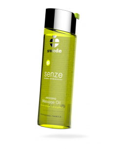 Huile de massage 100% Vegan Senze Citron - 75 ml