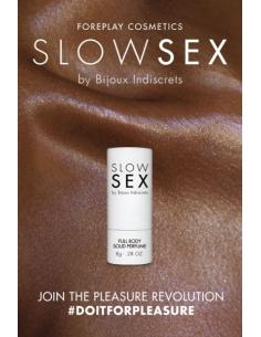 Parfum solide intime - Slowsex - 8g