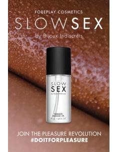 Huile de massage chauffante - Slowsex - 50ml