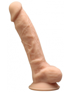 Gode Réaliste en Silicone et Silexpan Adam S - 17 cm