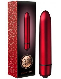 Stimulateur Vibrant Scarlet Velvet Rouge - 10 Vitesses