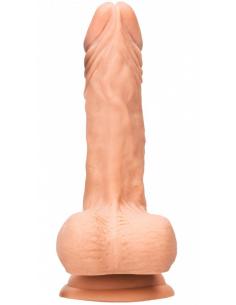 Gode Réaliste Toucher Peau + Harnais - 23 cm