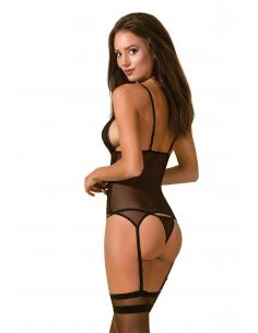 AV Vendi corset & thong black