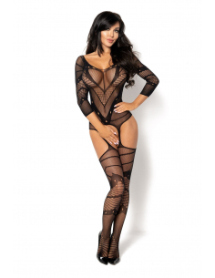 Esmeralda bodystocking black